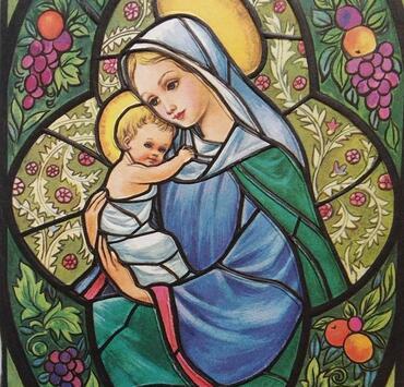 May-and-Mary مريم شهر ايار أيار