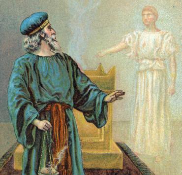 بشارة زكريا, زكريا, بشارة, الملاك جبرائيل