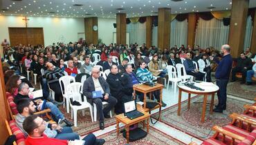 لقاء عيلة مار شربل في صالة كنيسة مار شربل - أدونيس