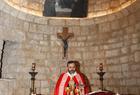 الخوريأنطوان بشعلاني يحتفل بالذبيحة الإلهية عيلة مار شربل عنايا دير مار مارون