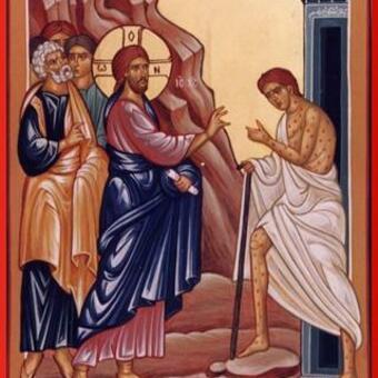 Healing-the-leper