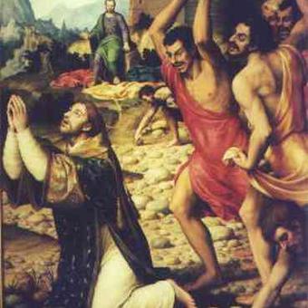 Saint Stephen, Fisrt Marthyr