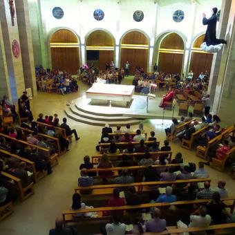 قداس عيلة مار شربل الجمعة 20 أيلول 2013